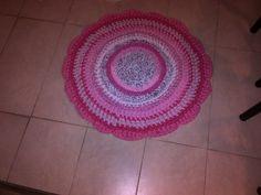 Alfombra grande rosada 2
