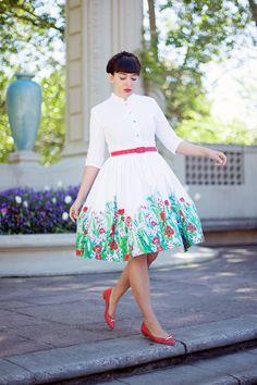 A proper dress.