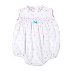 Magnolia Baby Something Sweet Smocked Bubble