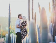 Desert Engagement Session - Inspired by This