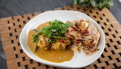 Malaysian Chicken Curry & Roti Canai | Good Chef Bad Chef