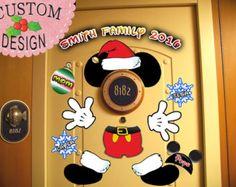 SALE Mickey Body Personalized Disney Cruise Door Magnets by Alluna