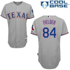 ad2385297 Rangers #84 Prince Fielder Grey Cool Base Stitched MLB Jersey Youth  Baseball Jerseys, Nfl
