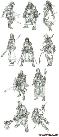Fantasy sword and magic character concept reference image Character Design Cartoon, Character Design References, 3d Character, Character Concept, Concept Art, Dungeons And Dragons, Fantasy Inspiration, Character Design Inspiration, Character Illustration
