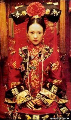 Jen Yu (Ziyi Zhang) 'Crouching Tiger, Hidden Dragon' 2000. Costume designed by Timmy Yip.