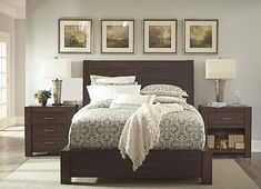 Master Bedroom - Bed, Nightstands, either dresser or chest of drawers.... got to measure!