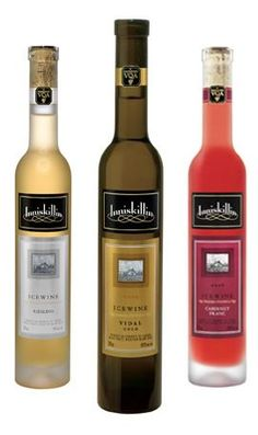 Inniskillin Ice Wine is just one of many of ice wines made in the Niagara Region...so Good.@DinnerbyDesign