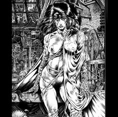 Macabre Erotica - Tim Vigil - sexy - horror - illustration