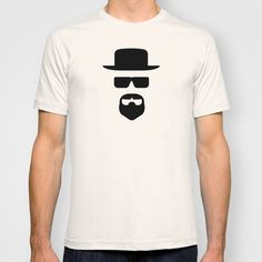 Heisenberg T-shirt by George Hatzis - $18.00