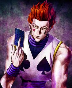 #Hisoka, my favourite bad character ever
