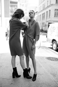 one of my favorite spring/summer fabrics in gauze…which is why i am so obsessed with alasdair's ss16 line…add to that the gritty streets of new york and heavy black eyeliner and you have the perfect lookbook. have a fantastic tuesday! xo mrs. french