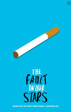 The Fault in Our Stars (2014) ~ Minimal Movie Poster by Angie Reyes #amusementphile