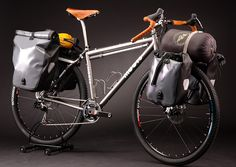 Moots Expedition Touring Bike - Hubalabike