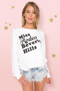 Miss Rodeo Baggy Beach Jumper