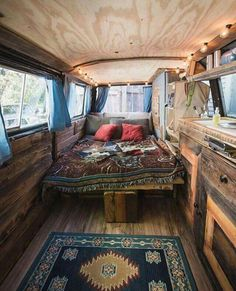 Awesome Camper Van Interior Ideas That'll Inspire You To Hit The Road Top Camper Van Conversions Thatll Inspire You To Hit. Awesome Camper Van Interior Ideas That'll Inspire You To Hit The Road 10 Awesome Camper Van Interior Ideas… Continue Reading → Custom Camper Vans, Custom Campers, Rv Campers, Small Campers, Teardrop Campers, Van Conversion Interior, Camper Van Conversion Diy, Diy Van Camper, Van Conversion Plans