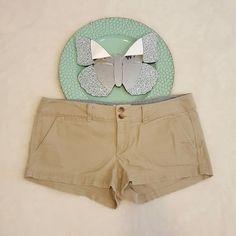Womens American Eagle Beige Khaki Short Chino Shorts Size 4 #596   Clothing, Shoes & Accessories, Women's Clothing, Shorts   eBay!