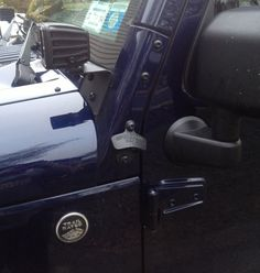 Jeep Wrangler JK APillar Bolt On Bottle by JeepBottleOpeners