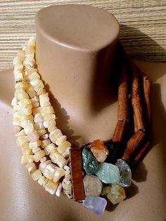 SYRIA necklace by KirkaLovesJewels.deviantart.com on @DeviantArt