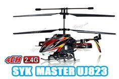 """YIBOO UJ823 Avatar Medium 4.5 Channel 14"""" RC Helicopter w/ Gyro $64.99"""