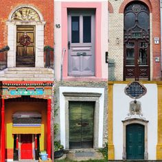 Doors by:  R1C1: @sofesoom R1C2: @sofesoom R2C1: @thedoorsofka R2C2: @free_do_lin R3C1: @mywiesbadenmoments R3C2: @luisscazufca  Congratulations!  Tag #windowsanddoorsoftheworld to be featured!  #windowsoftheworld #doors #doorsoftheworld #portas