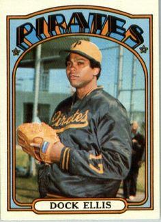 Dock Ellis Dock Phillip Ellis, Pittsburgh Pirates (Baseball Card) 1972 Topps #179 by Topps. $3.95. 1972 Topps #179 - Dock Ellis