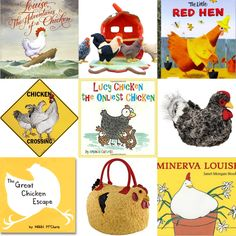 Cute Chicken Themed Books for any chicken lover's library. Chicken books we love and other chicken items we've collected for our chicken shelf.