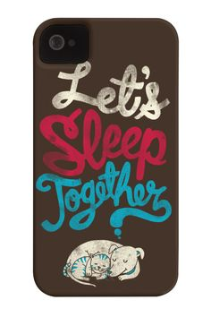 Lets Sleep Together Barely There Phone Case http://zocko.it/LDygc