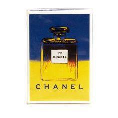 Chanel No. 5 Parfum Limited Andy Warhol Edition, $675; 1stdibs.com