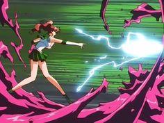 Sailor Jupiter attack in ep 124