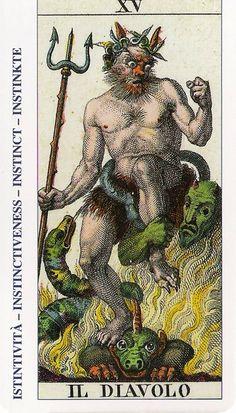 El diablo - Tarot