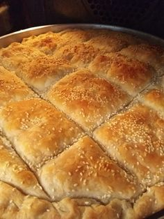 Greek Desserts, Greek Recipes, Cookbook Recipes, Cooking Recipes, Hot Dog Buns, Pie, Food, Breads, Pasta