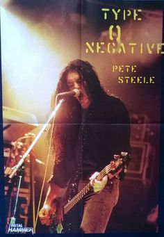 Peter Steele / Type O Negative did you know? Peter has a tattoo on his ass