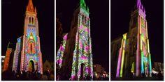 Gironde: les superbes lumières de l'église de Mérignac en vidéo