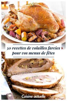Rien de mieux qu'un bon chapon ou autres volailles pour les fêtes, à condition de maitriser la cuisson et avec un bon accompagnement !  Pas de soucis, on a tout ça pour vous Chutney, Tomate Mozzarella, French Food, Pot Roast, Sauce, Pork, Turkey, Beef, Ethnic Recipes