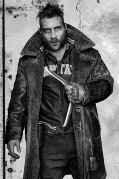 Jai Courtney as Captain Boomerang. ❤️