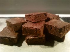 Brownies with Whey Protien Recipe