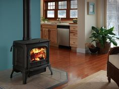 View our Free Standing Wood Stoves by Harman in our showroom located at Higgins Energy Alternatives, 140 Worcester Road, Barre, MA or call Into The Woods, Cabins In The Woods, Free Standing Wood Stove, Lowes Paint Colors, Small Garage, Home Fix, Stove Fireplace, Higher Design, Hearth