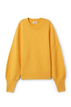 Weekday Trish Sweater in Yellow