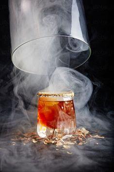 Smoked Whiskey by Studiofena - Scotch whisky, Whiskey - Stocksy United Smoked Whiskey, Cigars And Whiskey, Whiskey Drinks, Scotch Whiskey, Cocktail Drinks, Alcoholic Drinks, Whiskey Recipes, Whiskey Girl, Irish Whiskey