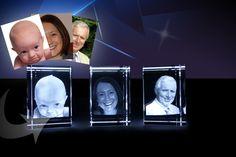 3D Crystal Photo Block