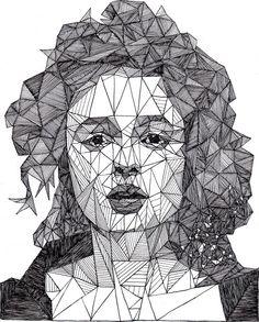 Helena Bonham Carter by Josh Bryan