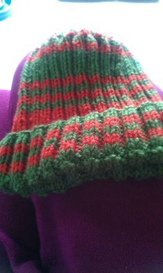 Ribbed striped adult hat Mittens, Knitted Hats, Scarves, Winter Hats, Beanie, Knitting, Fashion, Fingerless Mitts, Scarfs
