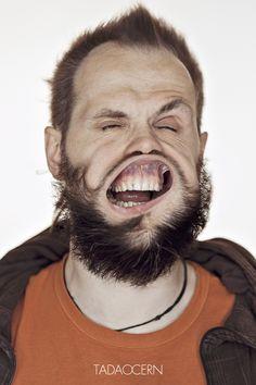 Blow Job - Fotos de rostos recebendo rajadas de vento   Criatives   Blog Design, Inspirações, Tutoriais, Web Design