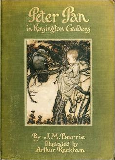 "Front cover of ""Peter Pan in Kensington Gardens"""