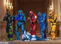 Halo Group by RayNakiCosplay.deviantart.com on @deviantART