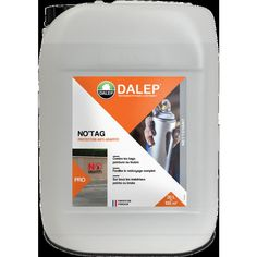 NO'TAG -Protection anti-graffiti 20L - DALEP Tags, Change, Street Graffiti, Exterior Paint, Cleaning, Mailing Labels