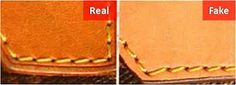 how to spot a fake LOUIS VUITTON -