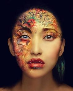 "Saatchi Art Artist Miss Aniela; Portrait Photography, ""Kai Face, medium - Limited Edition 1 of 15"" #art"