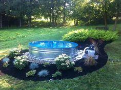 Stock Tank Pool Ideas In Backyard 8