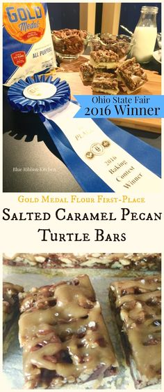 ... Meet The Newest Award-Winning Cookie: Salted Caramel Pecan Turtle Bars